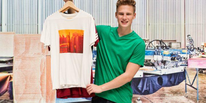 Trycka t-shirts